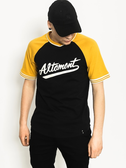 Tričko Altamont Kennett (black/gold)
