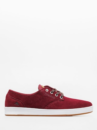 Boty Emerica The Romero Laced (burgundy/white)