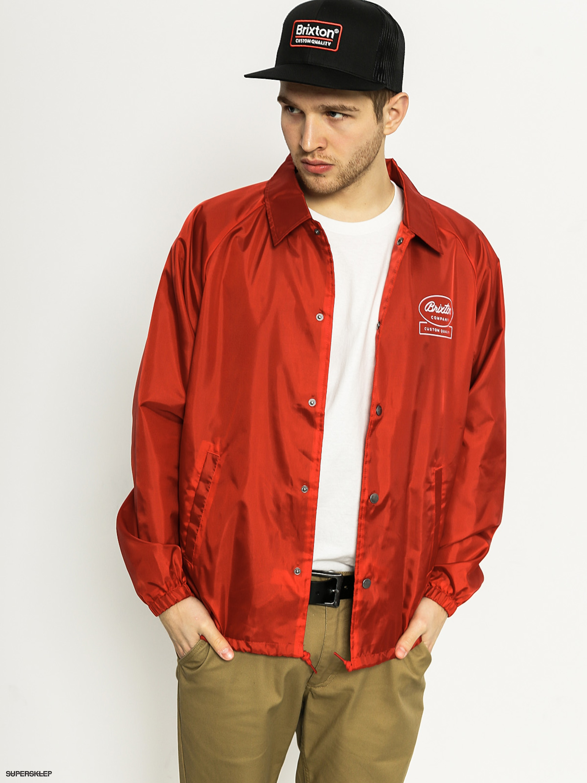 Bunda Brixton Dale (red/white)