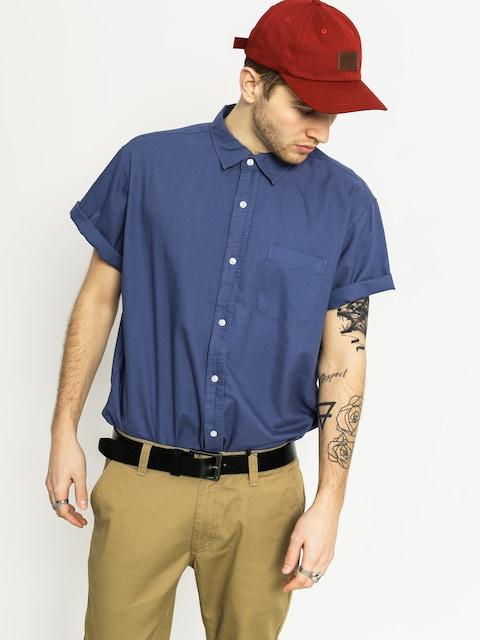 Košile Brixton Alder (deep blue)