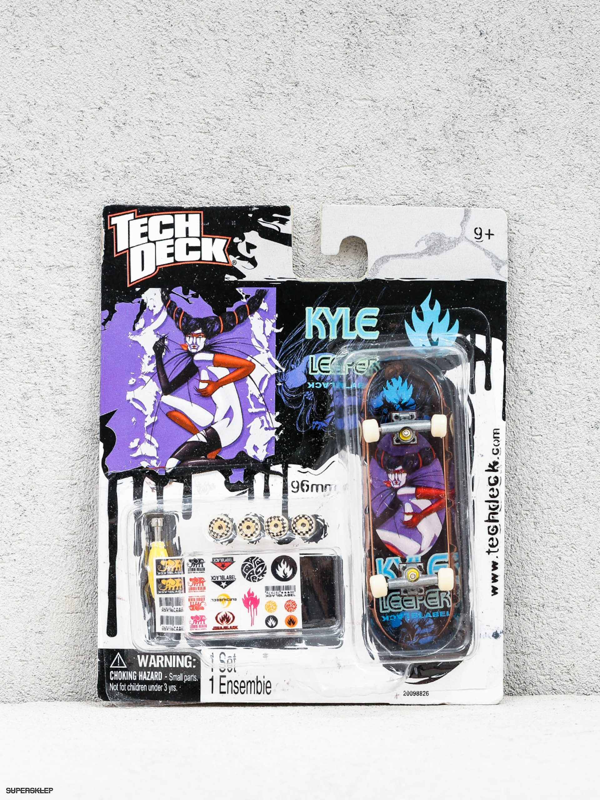 Tech Deck Fingerboard Black Label 02