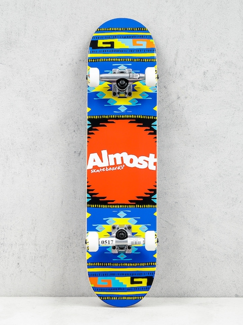 Almost Skateboard Rustic (blue)