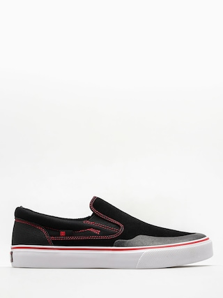 DC Boty Trase Slip On S Rt (black/red/white)