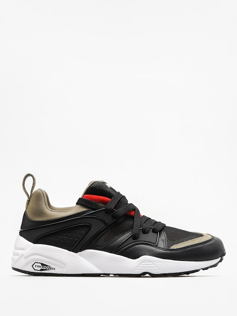 Puma Boty Blaze Of Glory Streetblock (puma black/burnt olive)