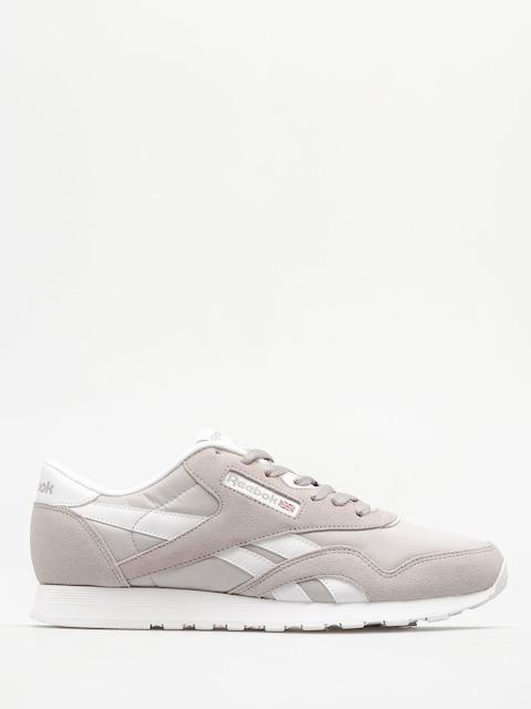 Reebok Boty Classic Nylon (whispher grey/white)