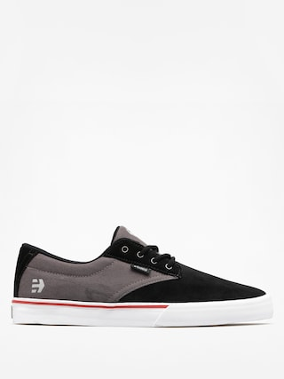 Etnies Boty Jameson Vulc (black/dark grey/silver)