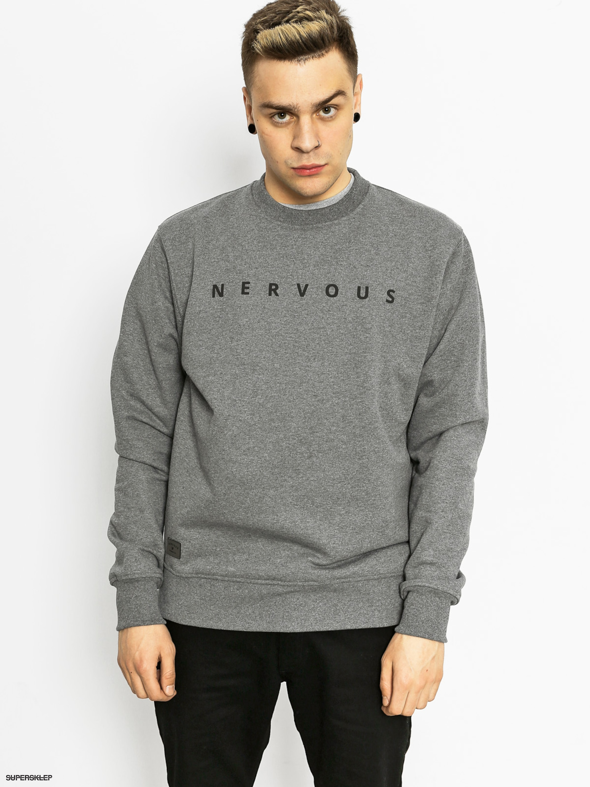 Mikina Nervous Space (grey)