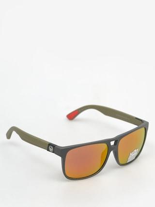 Sluneční brýle Dragon Roadblock H2O (matte magner grey/red)