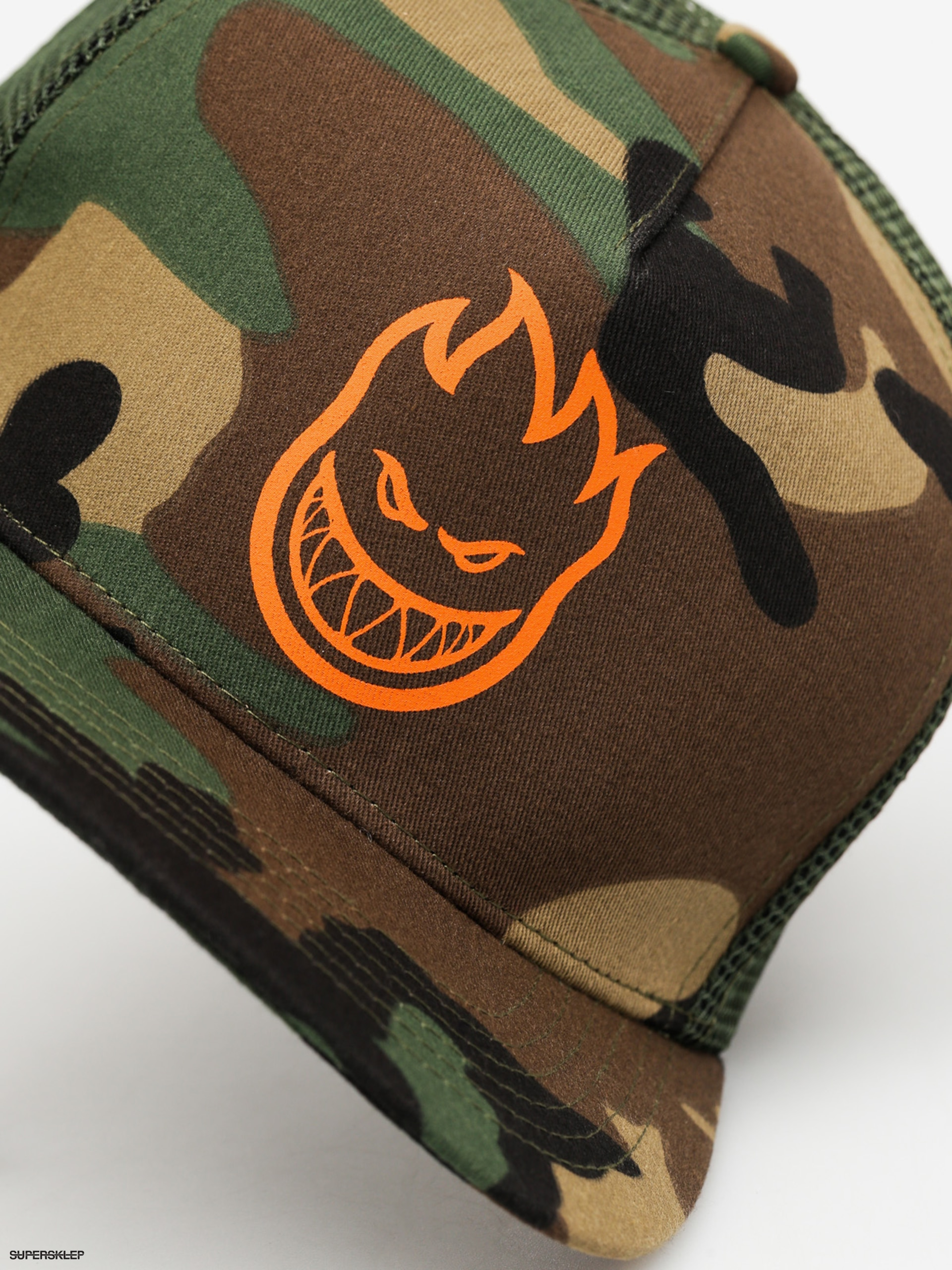 Kšiltovka Spitfire Big Head ZD (camo orange) 7928af11a9
