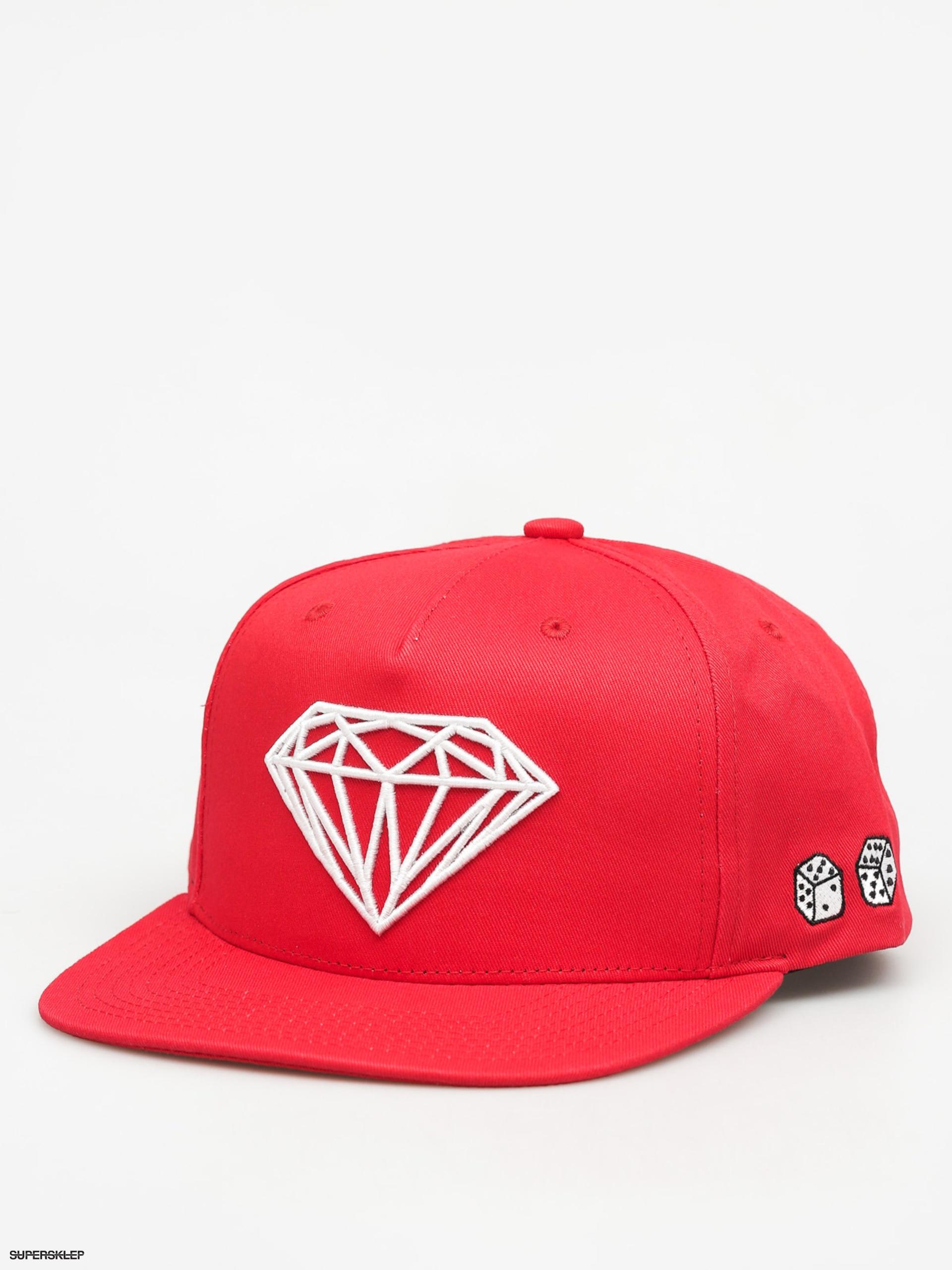 8ac273bfd0a Diamond Supply Co. Kšiltovka Brilliant ZD (red)