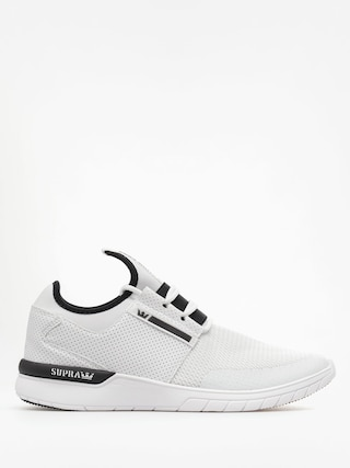 Boty Supra Flow Run (white white)