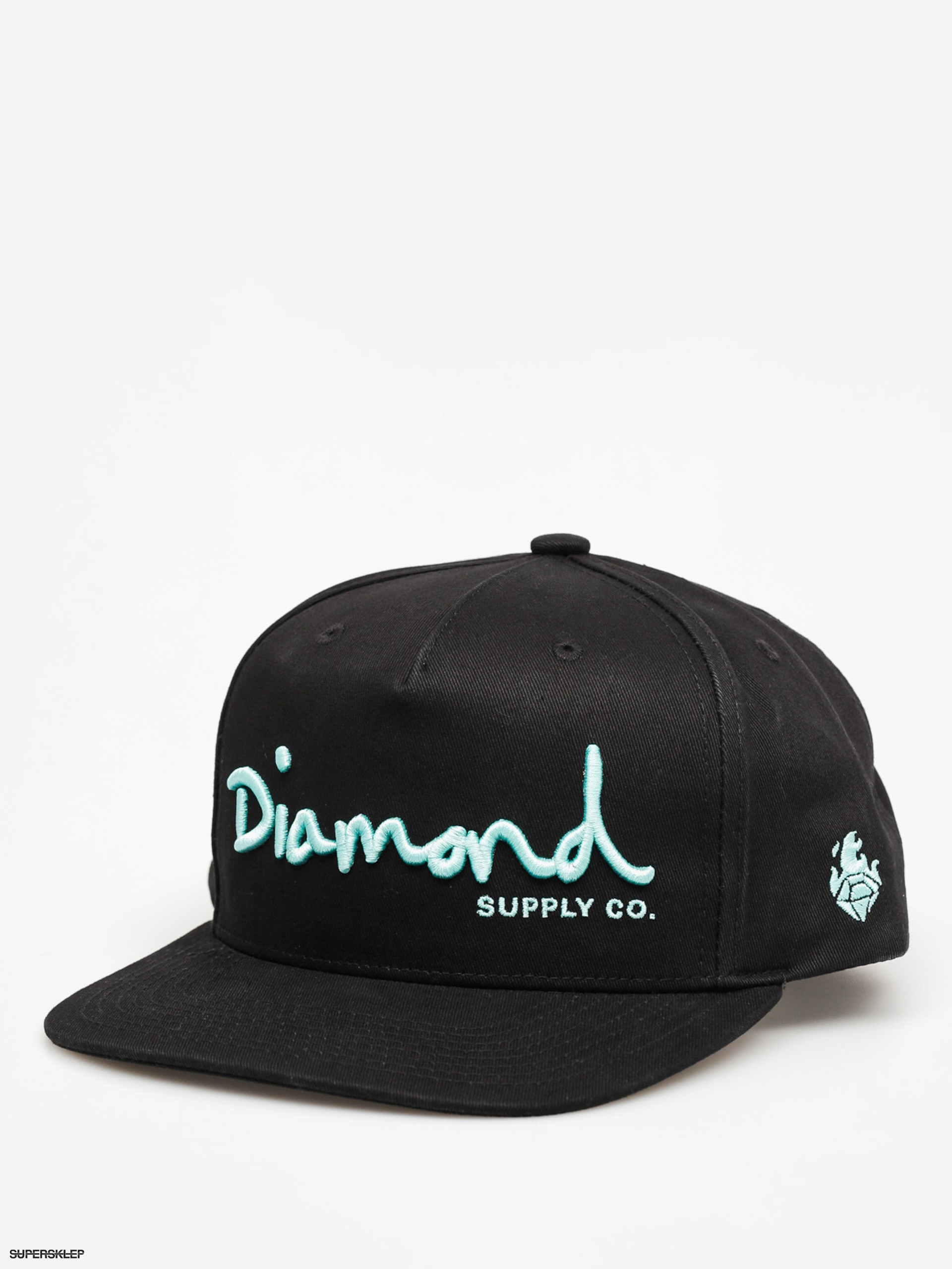 Diamond Supply Co. Kšiltovka Og Script ZD (black)