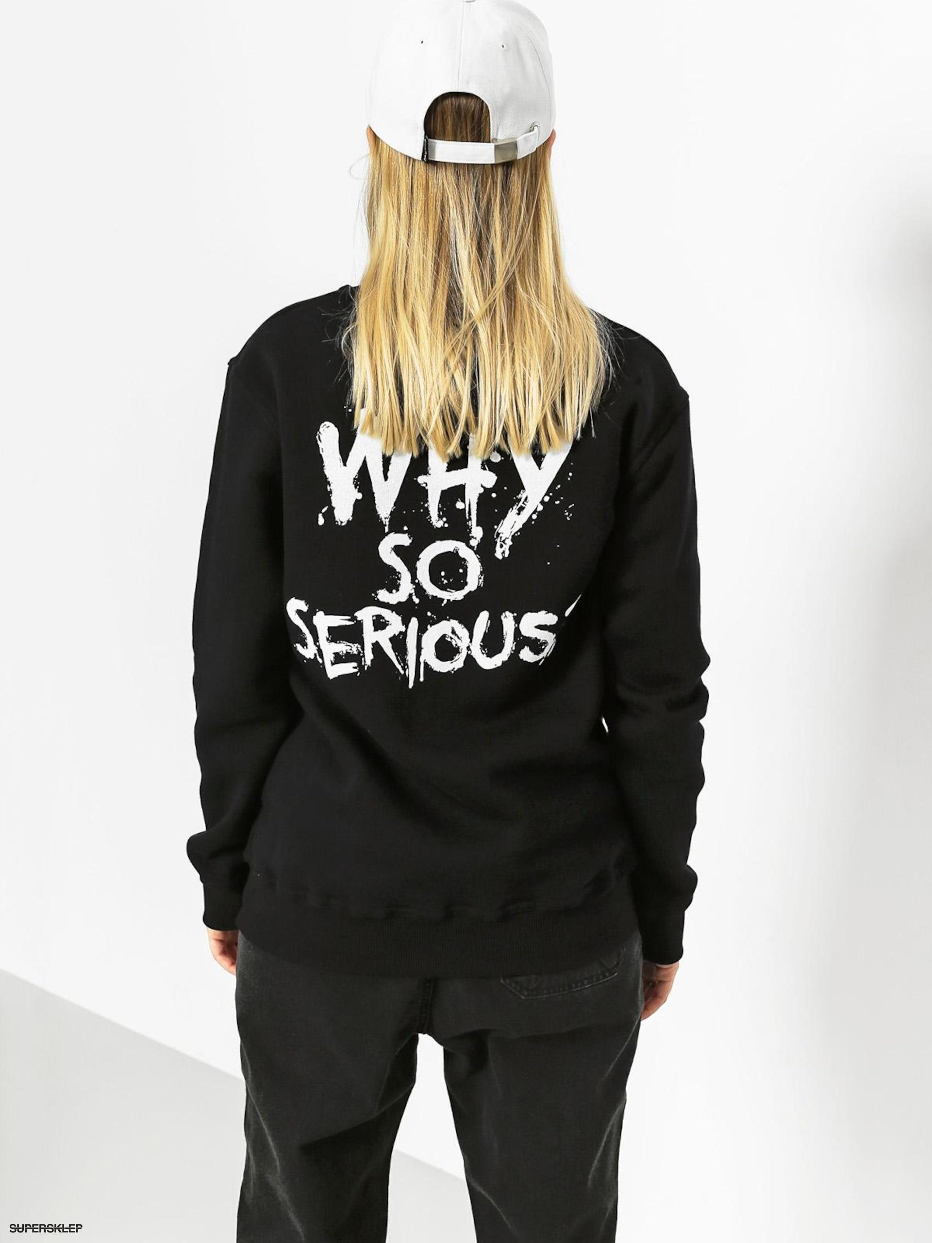 ograniczona guantity najnowszy ceny detaliczne Diamante Wear Mikina Why So Serious Joker Hero Wmn (black)