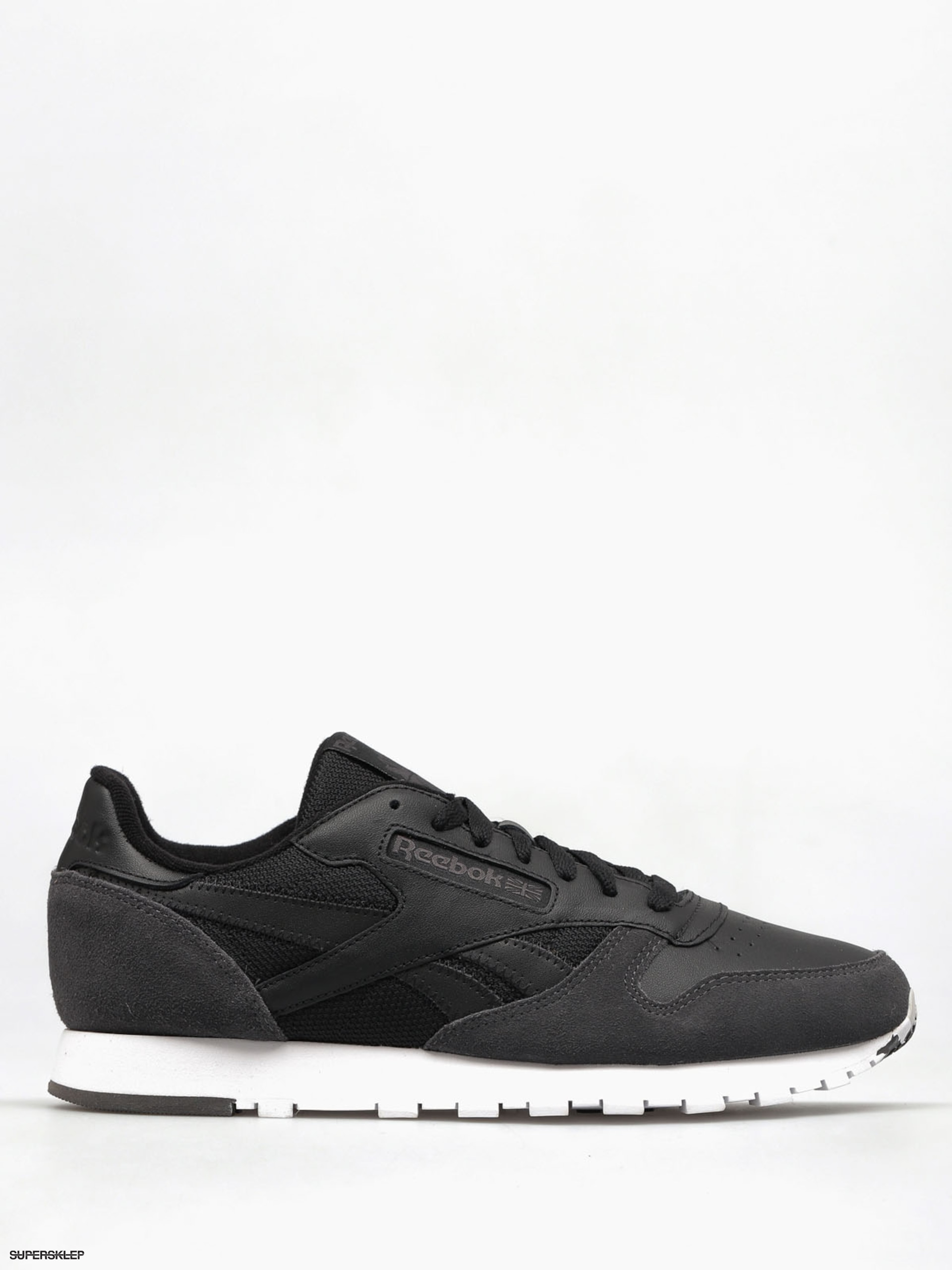 Boty Reebok Cl Leather Mo (black/coal/white/skullgry)