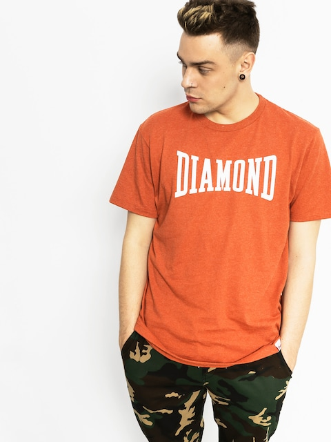 Diamond Supply Co. Tričko Crescendo (burnt orange)