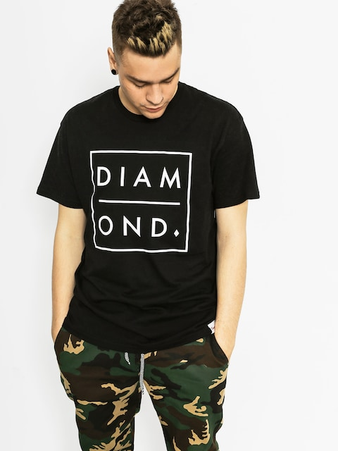 Diamond Supply Co. Tričko Outline (black)