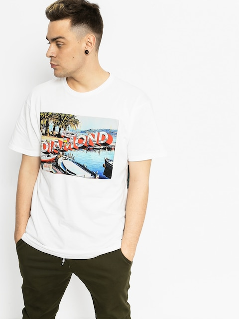 Diamond Supply Co. Tričko Get Avay (white)