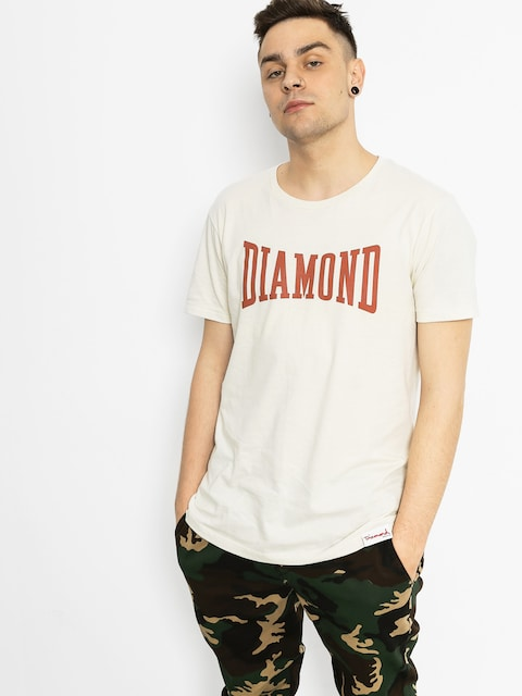 Diamond Supply Co. Tričko Crescendo (tan)