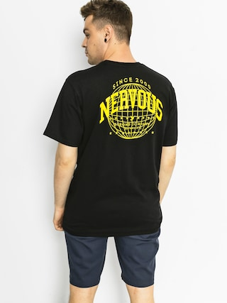 Nervous Tričko World (black)