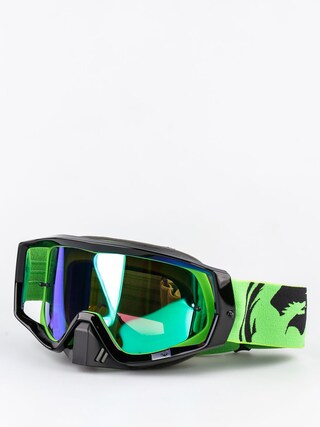 Cross brýle Dragon Vendetta (green black split/green ion)