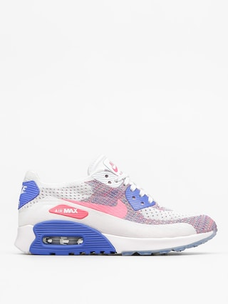 Boty Nike Air Max 90 Wmn (Ultra 2.0 Flyknit white/racer pink medium blue)