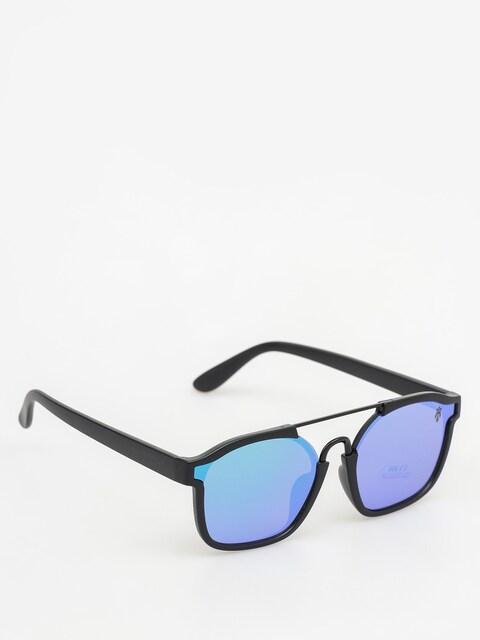 Majesty Sluneční brýle Wire (matt black/green emerald lens)