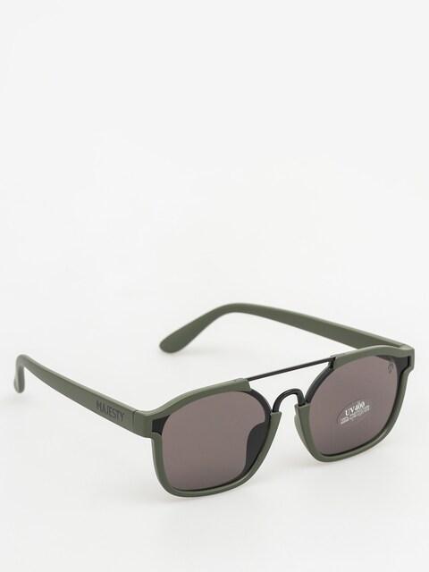 Majesty Sluneční brýle Wire (matt army green/black pearl lens)