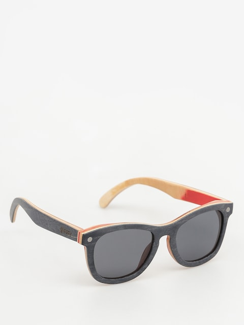Sluneční brýle Glassy Deric Polarized Skateboard (wood)