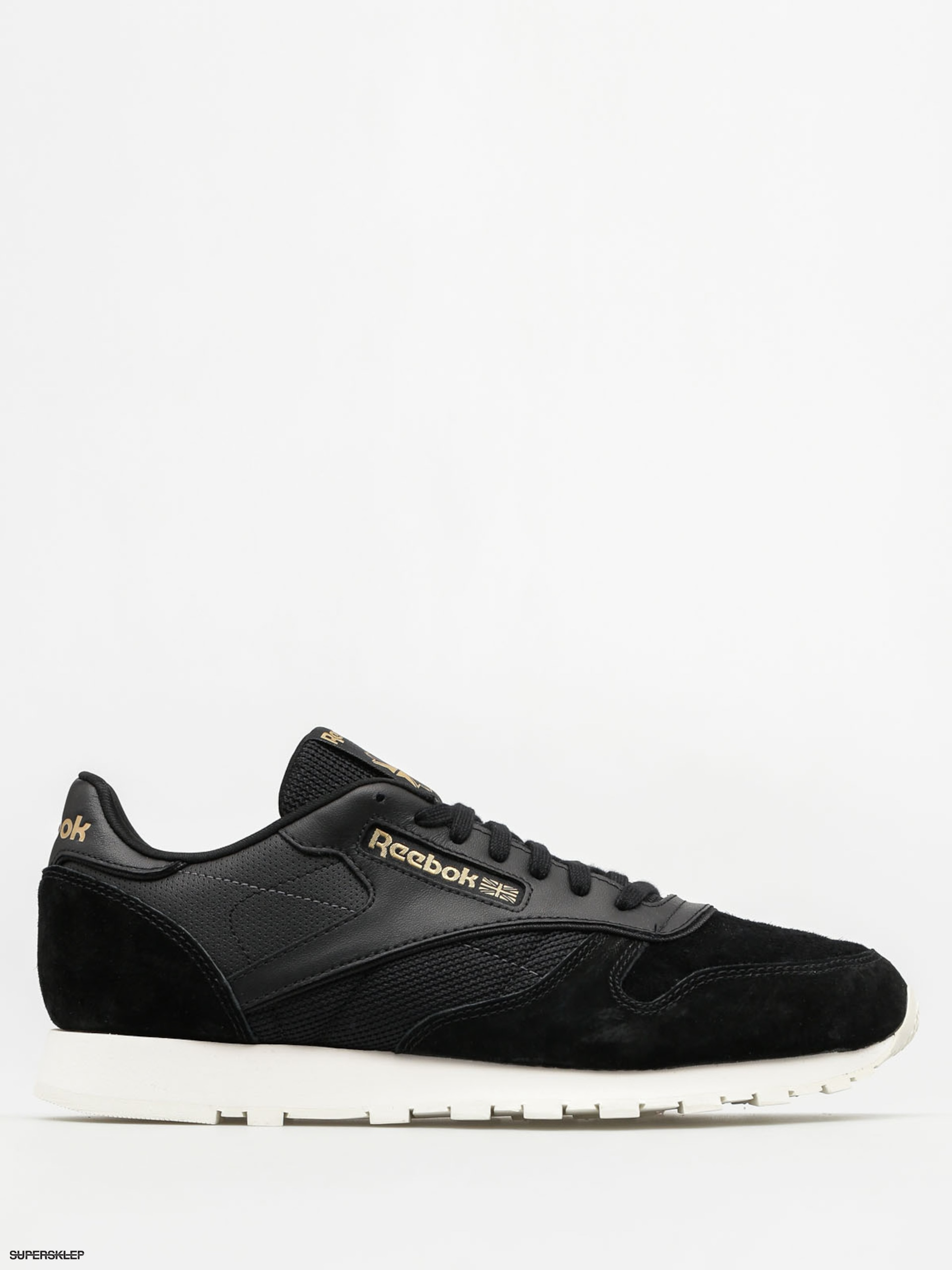 Reebok Boty Cl Leather Alr (black/chalk/ashgry/br)
