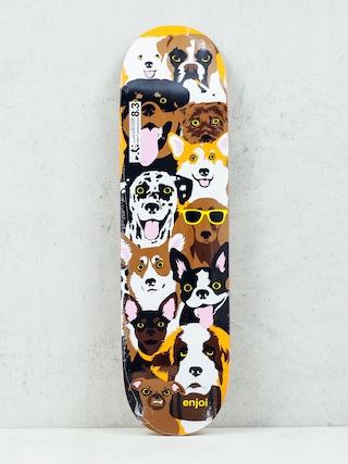Deska Enjoi Dog Coleage R7 (brown)