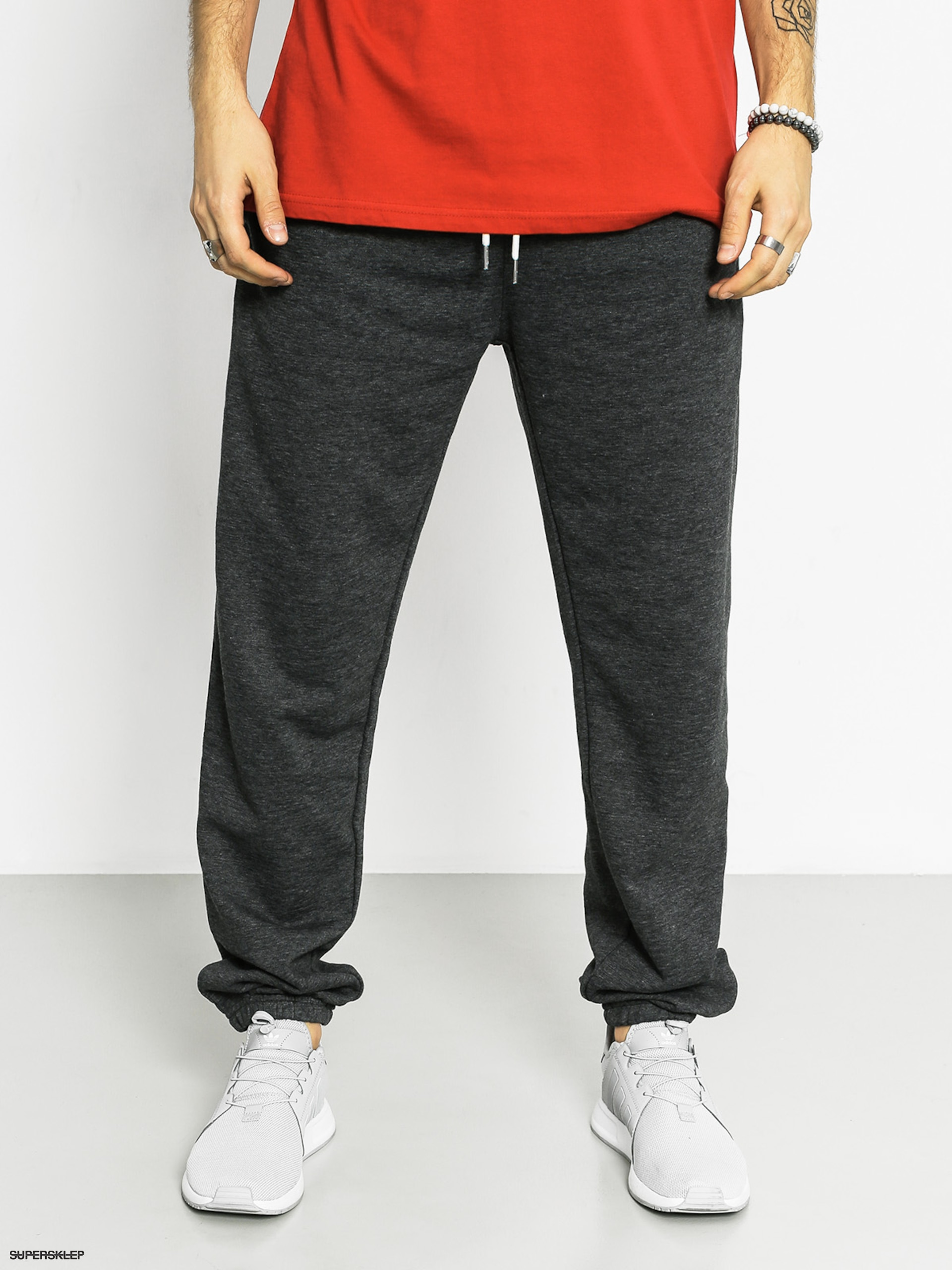 Kalhoty Quiksilver Everyday Pant Drs (dark grey heather)