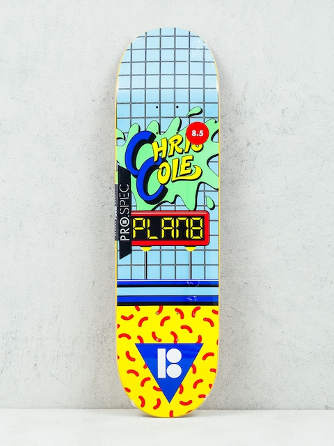 Deska Plan B Cole Dare (blue/green/yellow)