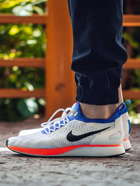 Boty Nike Air Zoom Mariah Flyknit Racer (white/hyper crimson pure platinum)