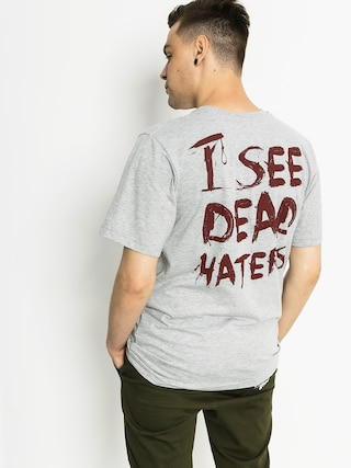 Tričko Diamante Wear I See Dead Haters (grey)