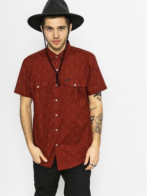 Košile Brixton Wayne (brick)