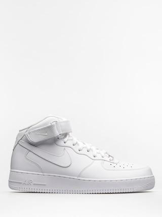 Boty Nike Air Force 1 Mid 07 (white/white)