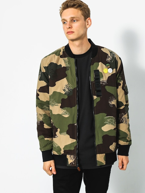 Bunda Quiksilver Trestles Army (scretch camo colour)
