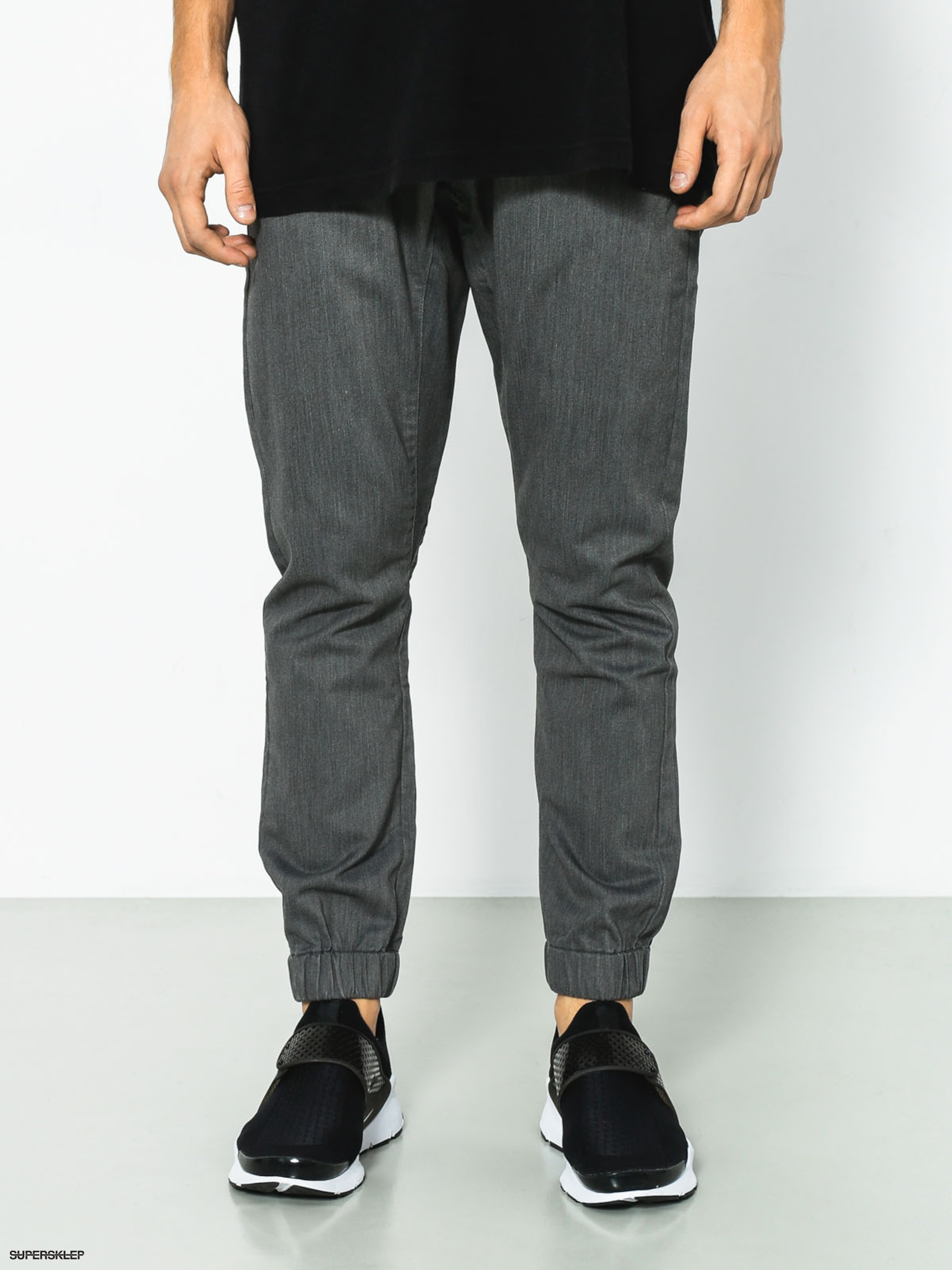 Kalhoty Quiksilver Fonic (dark grey heather)