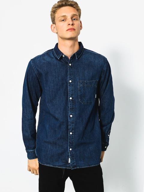 Košile Quiksilver Denim Sula LS (mid indigo)