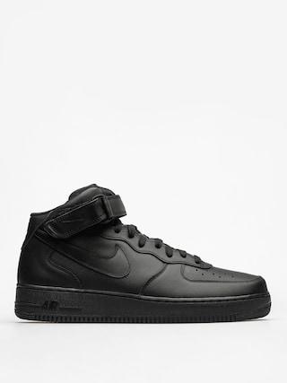 Boty Nike Air Force 1 Mid 07 (black/black black)