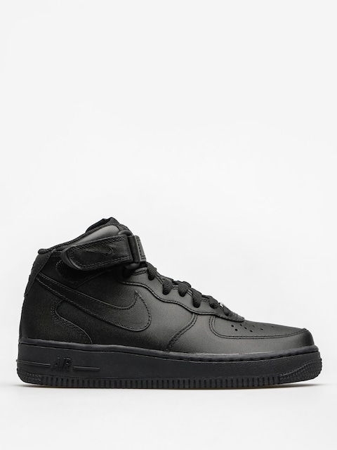 Boty Nike Air Force 1 Mid 07 Le Wmn (black/black)