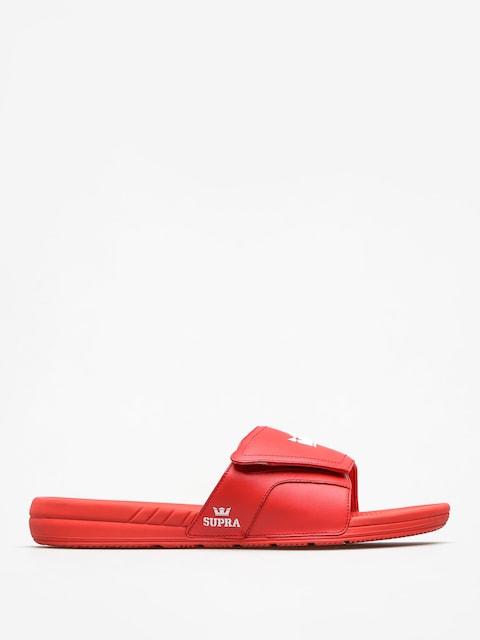 Plážovky Supra Locker (risk red)