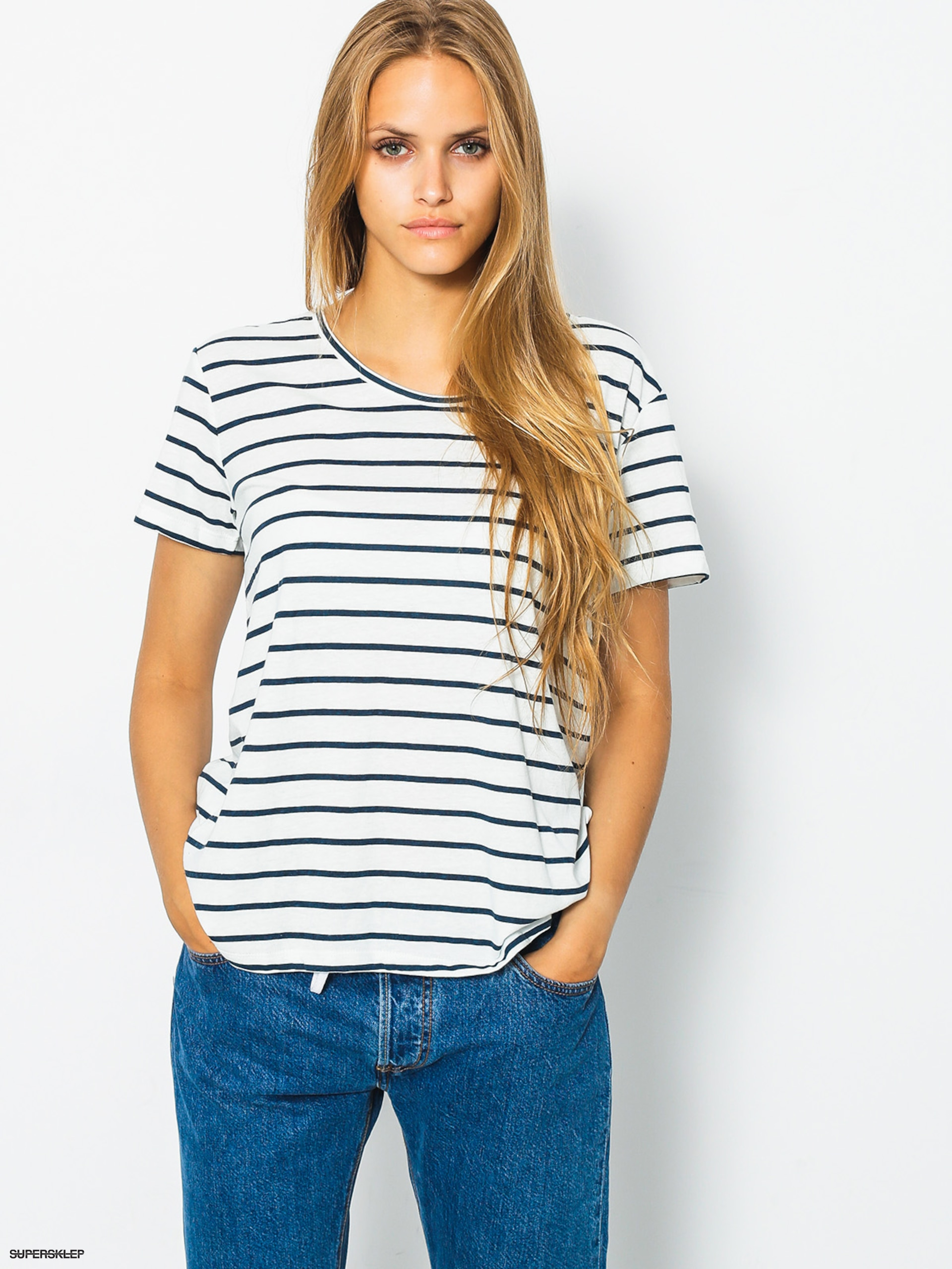 Roxy Tričko Just Simple Stripe Wmn
