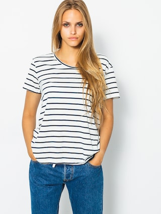 Roxy Tričko Just Simple Stripe Wmn (marshmallow lexi str)