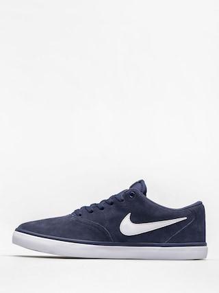 Boty Nike SB Check Solar (midnight navy/white)