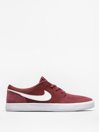 Boty Nike SB Solarsoft Portmore II (dark team red/white black white)