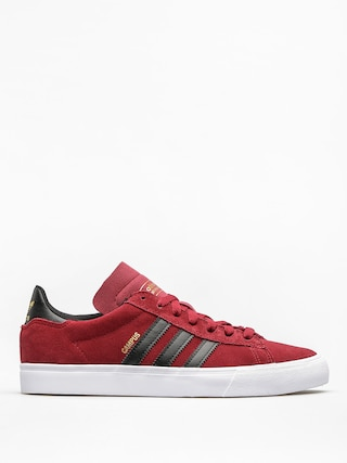 adidas Boty Campus Vulc II (collegiate burgundy/core black/ftwr white)