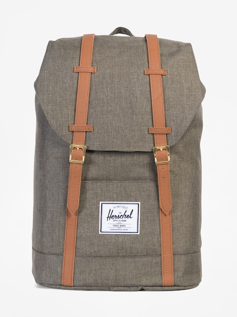 Herschel Supply Co. Batoh Retreat (canteen crosshatch/tan synthetic leather)