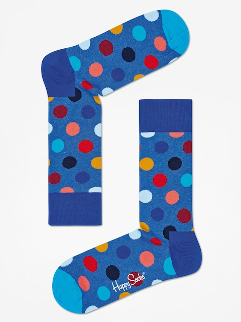 Happy Socks Ponožky Big Dots (blue/multi)