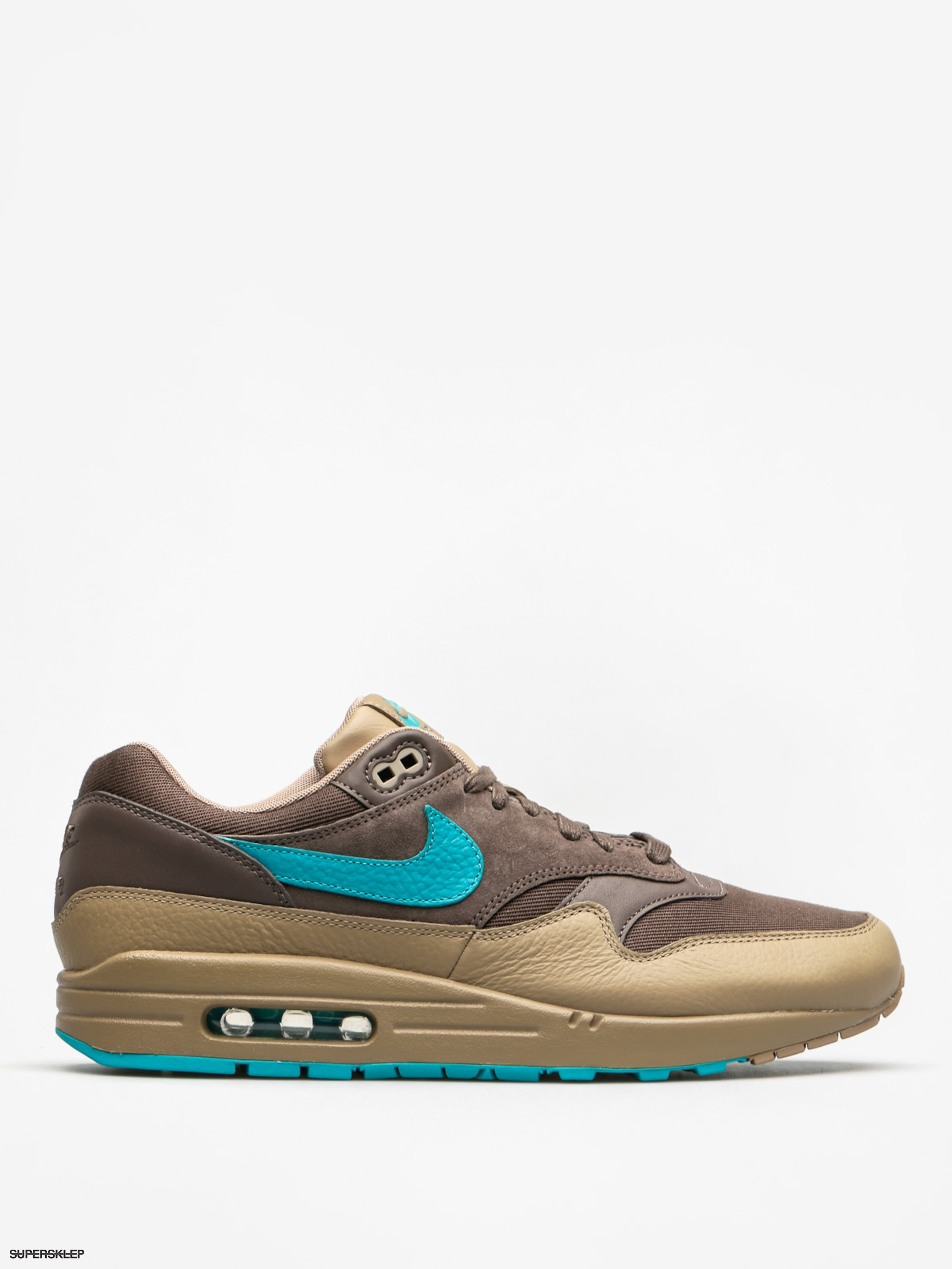 Nike Boty Air Max 1 (Premium ridgerock/turbo green khaki)